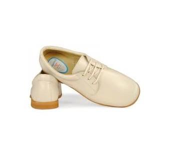 zapato comunion beige