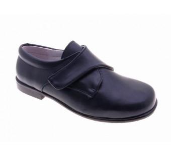 zapato comunión velcro marino