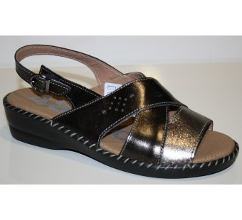 Zapato tipo sandalia ancho especial 48 horas