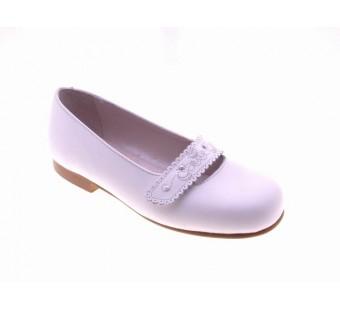 zapato comunion blanco