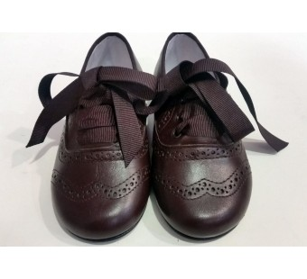 Blucher marron chocolate