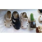 Sandalia piel lavable