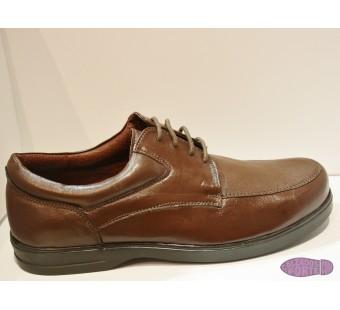 Zapato blucher marrón DOLAR
